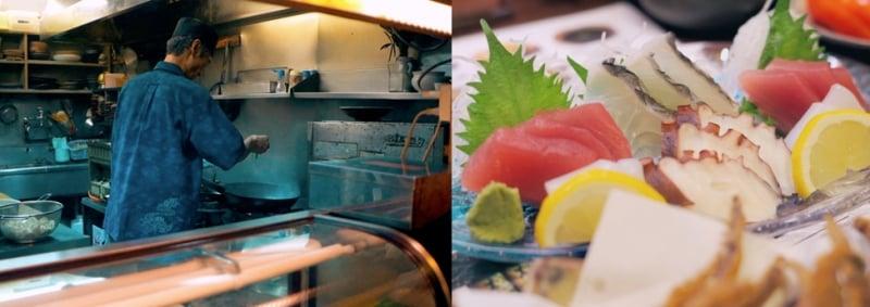 Food at Sakaemachi Arcade
