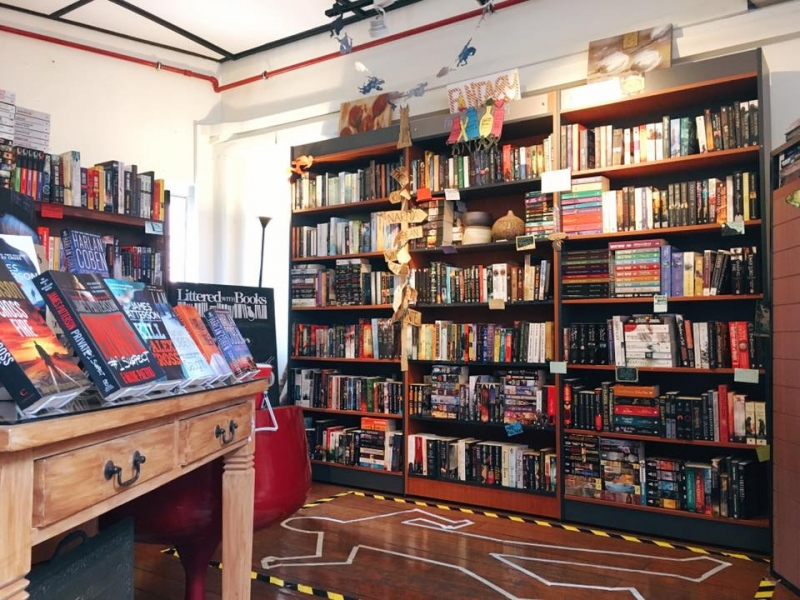 indie bookshops in SEA