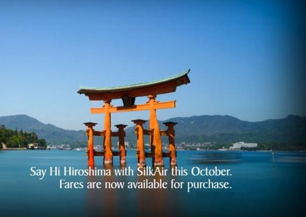 Say Hi to Hiroshima with SilkAir this October from SGD519