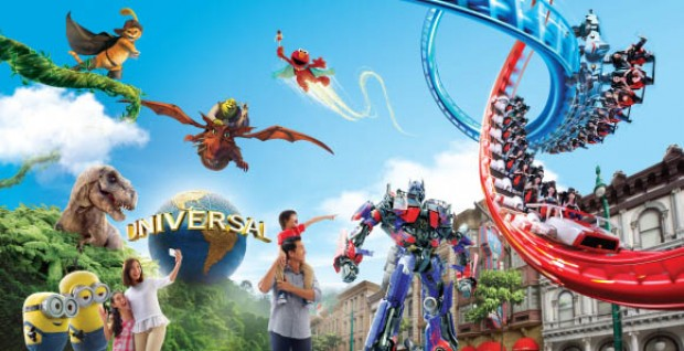 Save 10% Off Admission Tickets to Universal Studios Singapore with DBS Card