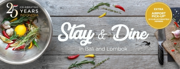 Stay & Dine in Bali and Lombok with Ibis from SGD 34