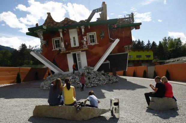 Upside Down House Austria