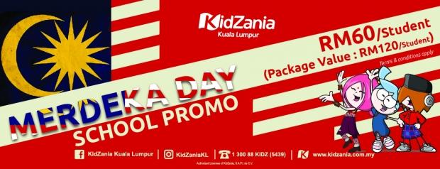 Merdeka Day School Promo in KidZania Kuala Lumpur