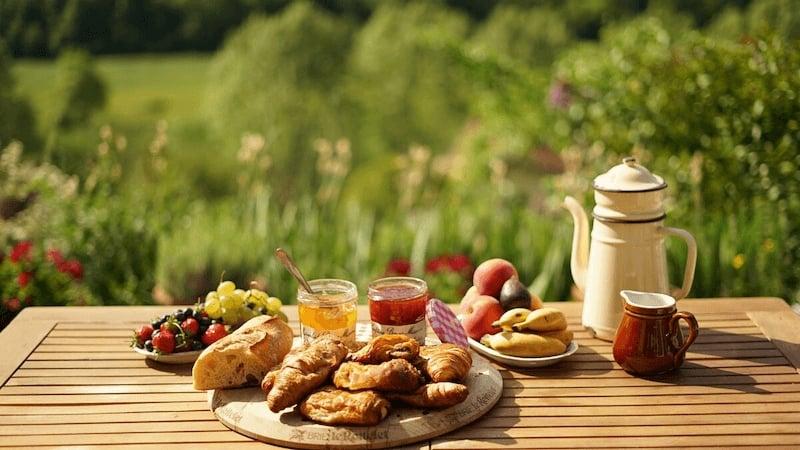 Breakfast in Sospel