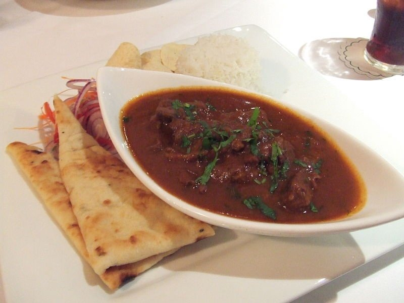 Vindaloo and Rogan Josh