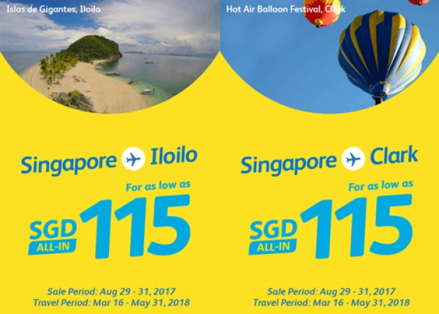 Fly to Philippines with Cebu Pacific from SGD90 1