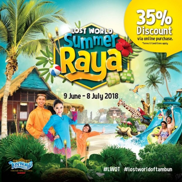 Up to 35% Savings in Sunway Lost World of Tambun