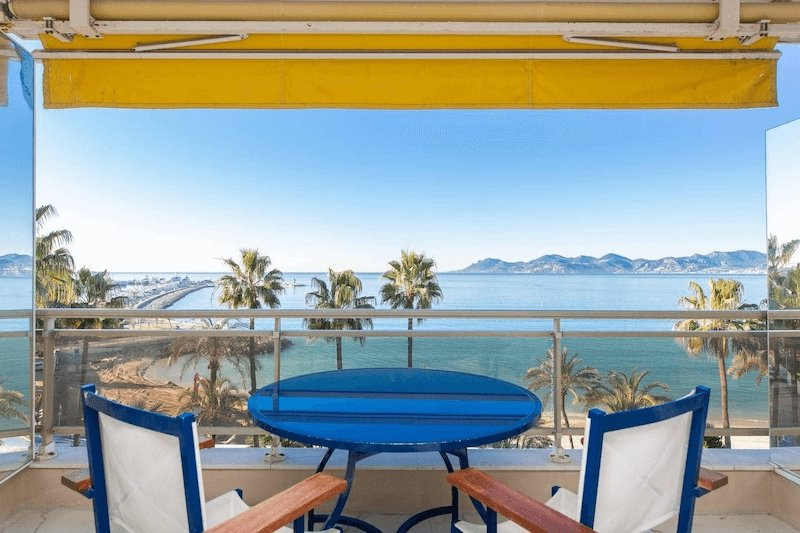 Airbnb in Cannes on the French Riviera