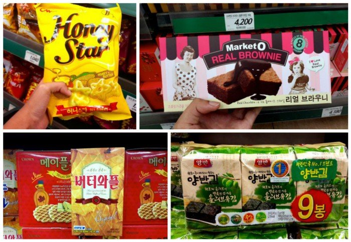 korea snacks lotte market