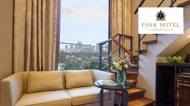 50% Off Sky Loft Rooms Rate (Sat& Sun) in Park Hotel Farrer Park with NTUC Card