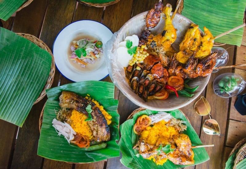 where to eat in la union: layag
