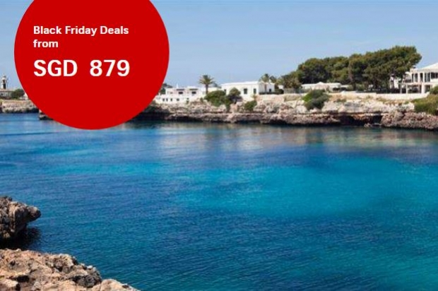 Black Friday Deals from SGD879 in Swiss Airlines