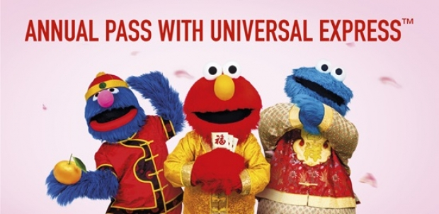 Universal Studios Singapore Annual Pass with Express Festive Deal