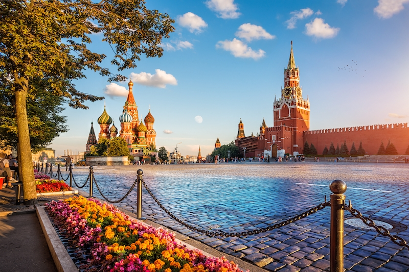 travel to russia: red square