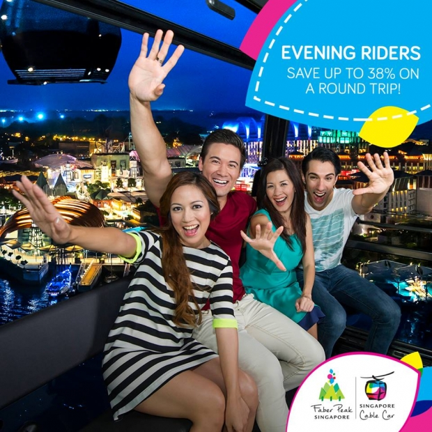Night Riders Exclusive | Enjoy 38% Off Round-Trip Ride in Singapore Cable Car