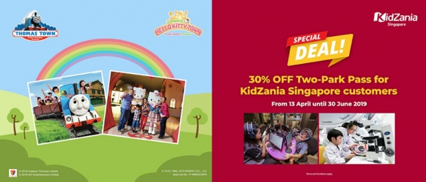 Special Deal for KidZania Singapore Customers at Puteri Harbour
