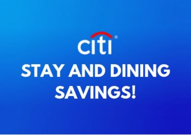 Citi Stay and Dining Savings at G Tower Hotel