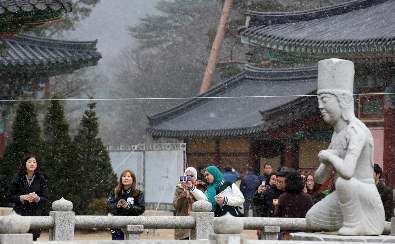 Woljeongsa Temple - Gangwon