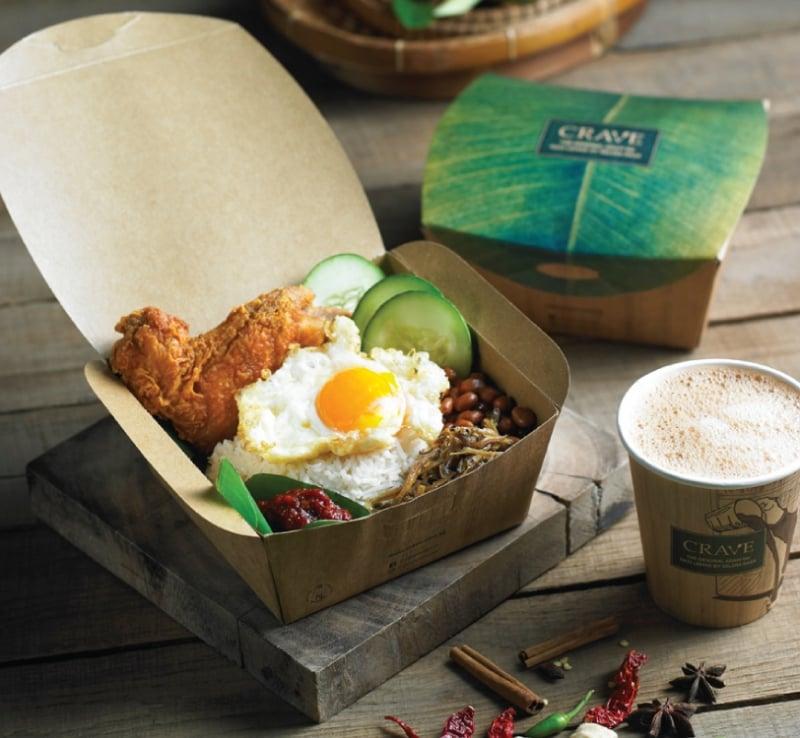 Best Singaporean food: nasi lemak