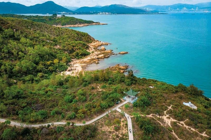 pulau bebas kendaraan hong kong