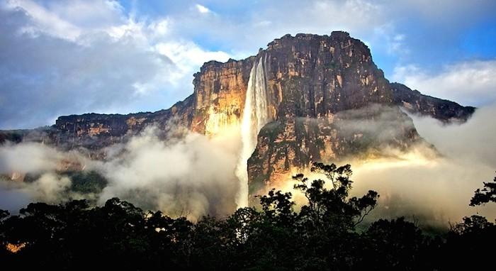 angel falls venezuela south america