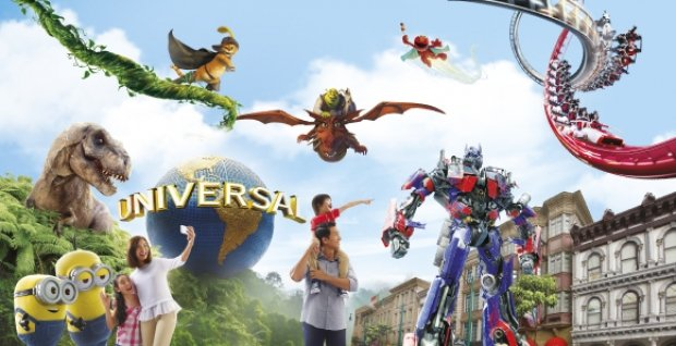Mastercard® Exclusive: Universal Studios Singapore Adult One-Day Ticket + 1 x EZ-Link Card at S$68 (Min. 2 to go)