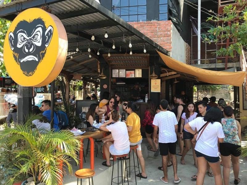 restaurants in la union: mad monkeys
