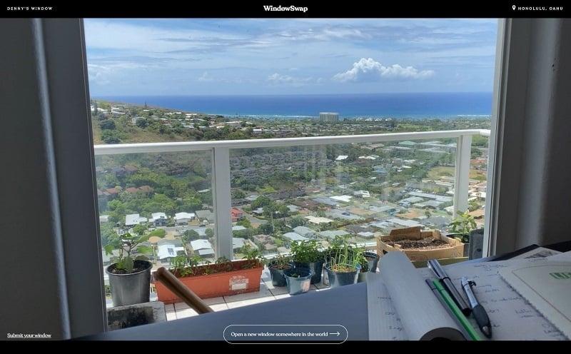 windowswap window views hawaii