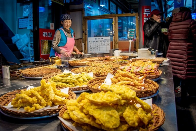 Gangneung market