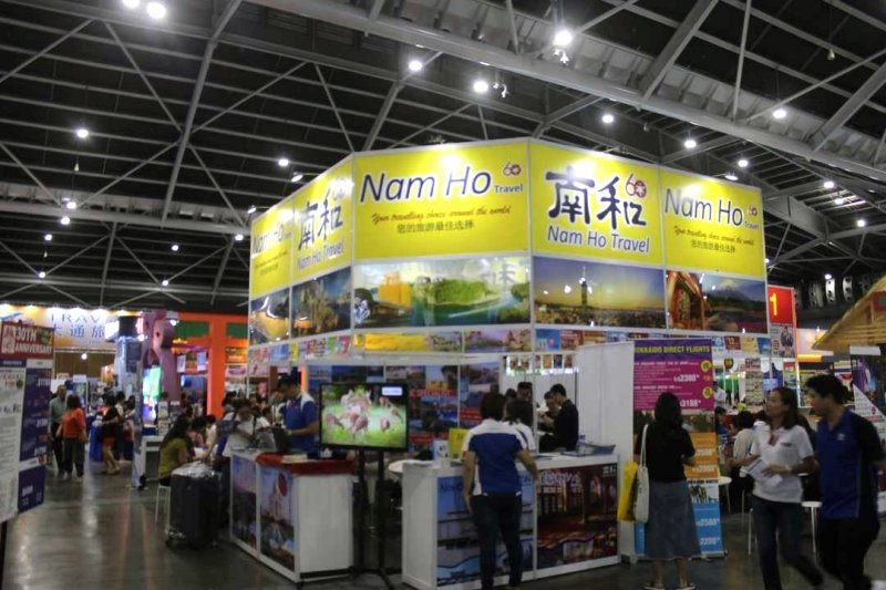 Nam Ho Travel booth at NATAS travel fair