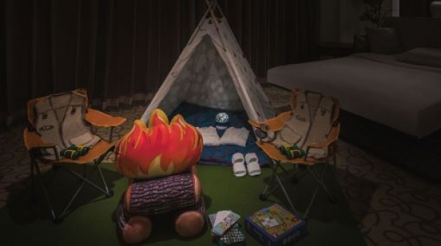 Family Glamping Package at The Fullerton Hotel Singapore