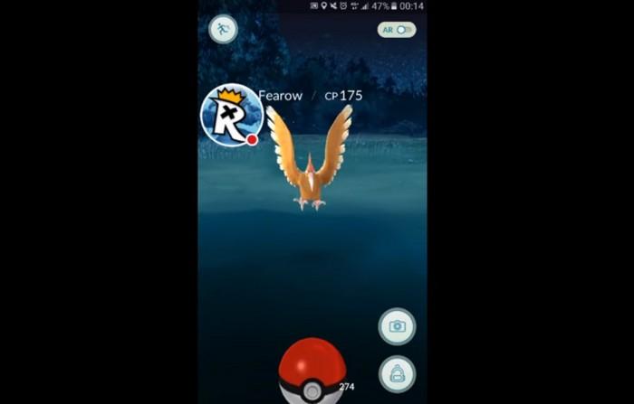 rare pokemon night