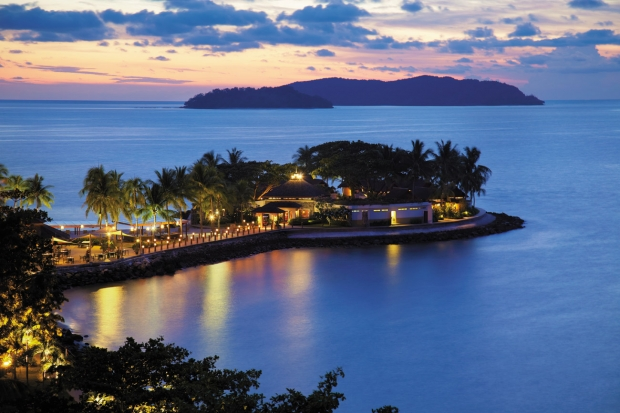 Tropical Holiday with Island Escapades from RM935 in Shangri-La Tanjung Aru Resort & Spa