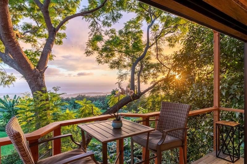 Airbnb on the Big Island, Hawaii