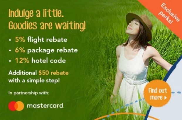 Indulge a Little with Zuji and MasterCard Promotion
