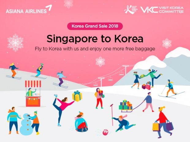 Korean Grand Sale 2018 Special Offer in Asiana Airlines