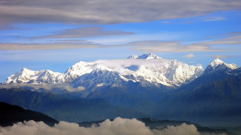 Trekking Mt. Kanchenjunga is one of the top things to do in Sikkim