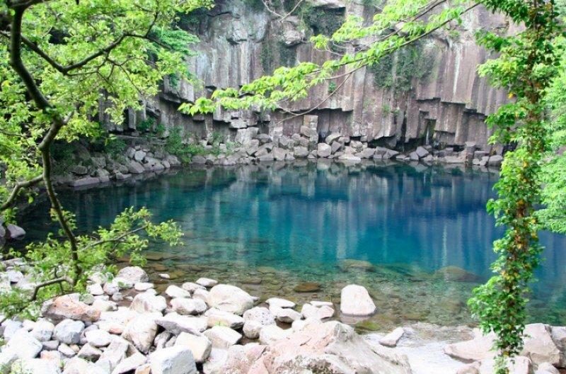 Cheonjeyeon Waterfalls