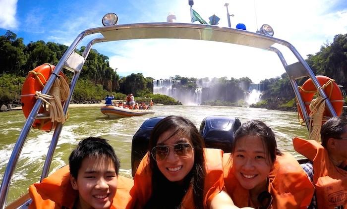 iguazu falls brazil argentina south america