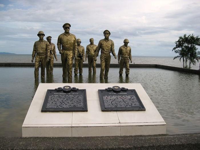 Leyte Landing Monument
