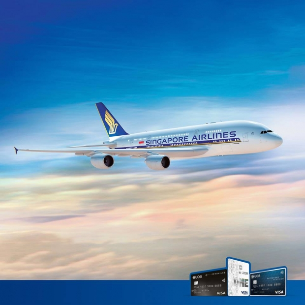 Enjoy Flights with Singapore Air, SilkAir and United Overseas Bank Card