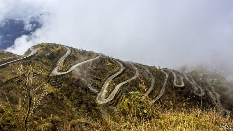 A scenic road trip is one of the things to do in Sikkim