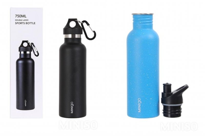 reusable bottles and tumblers