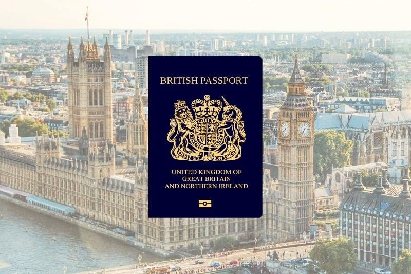 Coolest Passport Designs of the World: British Passport