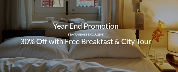 Save 30% Off with Far East Hospitality's Year End Promotion
