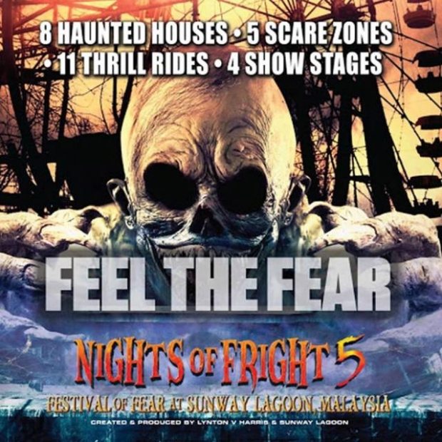 Sunway Lagoon Malaysia Nights of Fright 5 Special Offer with Maybank