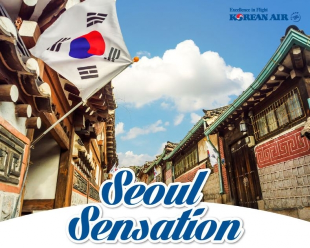 Experience Seoul Sensation with Korean Air from SGD594