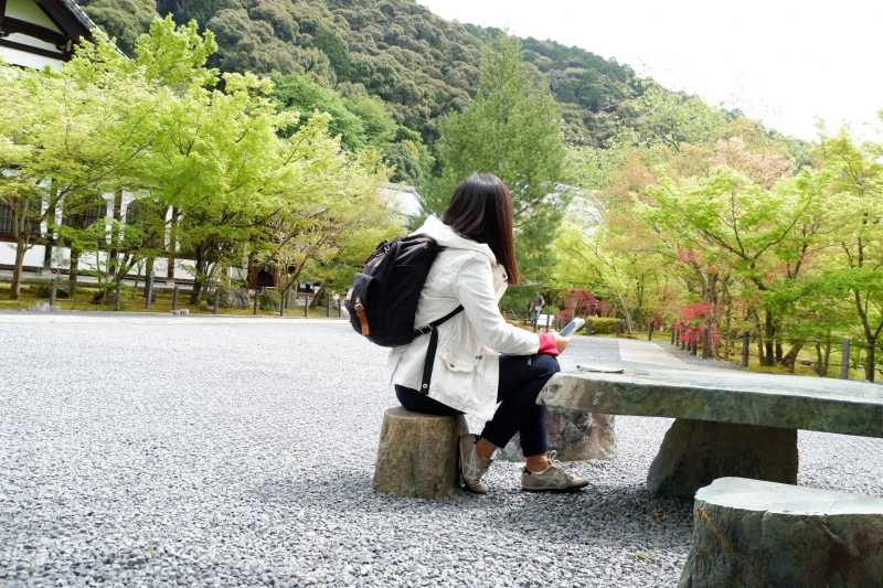 spring japan first solo travel