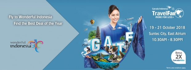 Garuda Indonesia Travel Fair Singapore with Fares