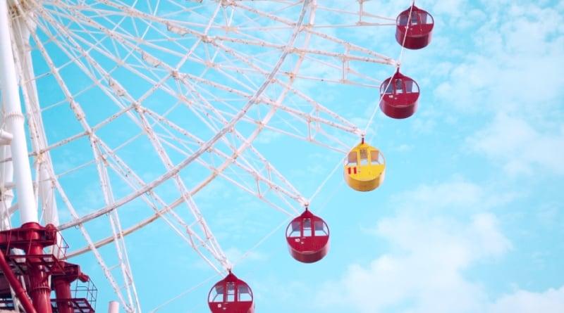 Ferris wheel at Mihama American Village
